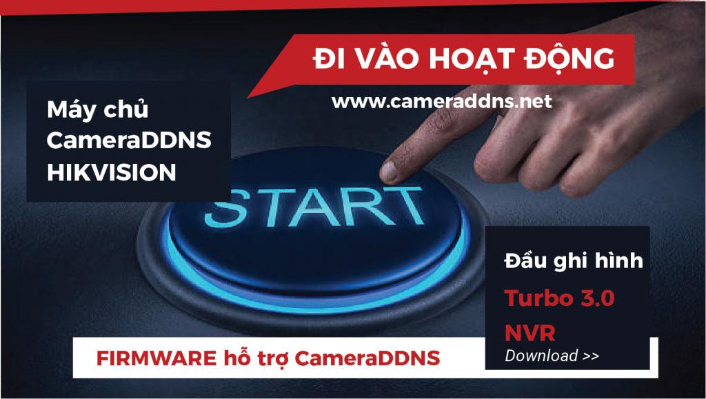 Máy chủ tên miền CAMERADDNS của Hikvision bắt đầu hoạt động tại thị trường Việt Nam